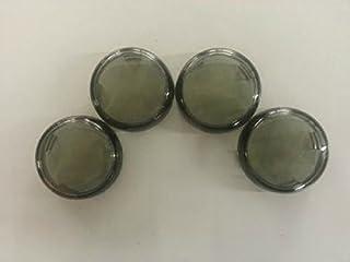 Orange Cycle Parts Smoke Turn Signal Lens Set (4) for...