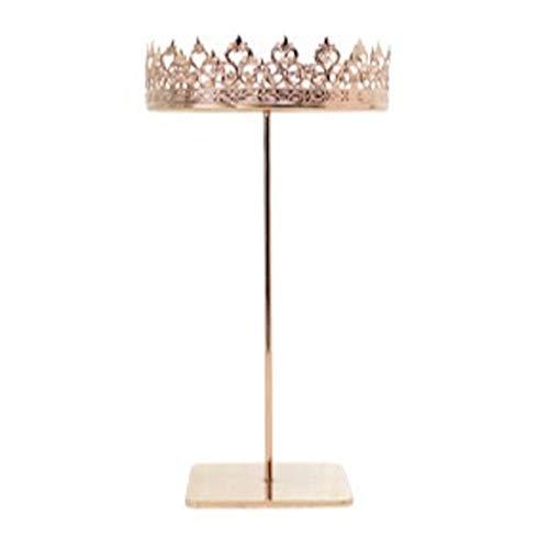 Wuhuayu Luxuriöse Metall-Kronen-Halskettenhalter für Kommode, romantisches Geschenk für Freundin (Farbe: Halsketten-Display)