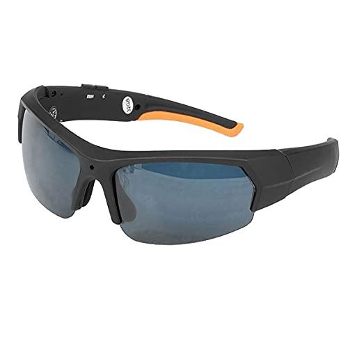 NewZexi Multifuncional Bluetooth Gafas de Sol Gafas Deportivas Auriculares Bluetooth Mini DV Grabadora de Vídeo Gran Angular HD 1080P Gafas de Cámara Ciclismo Vasos Incorporado 32GB Memoria