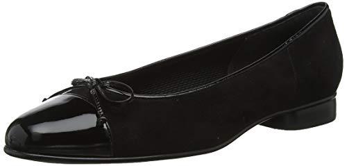 Gabor Shoes Damen Basic Geschlossene Ballerinas, Schwarz (Schwarz 77), 37 EU