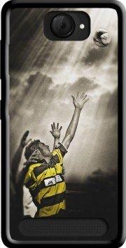 MOBILINNOV Archos 40d Titanium Rugby Challenge Silikon Hülle Handyhülle Schutzhülle - Zubehor Etui Smartphone Archos 40d Titanium Accessoires