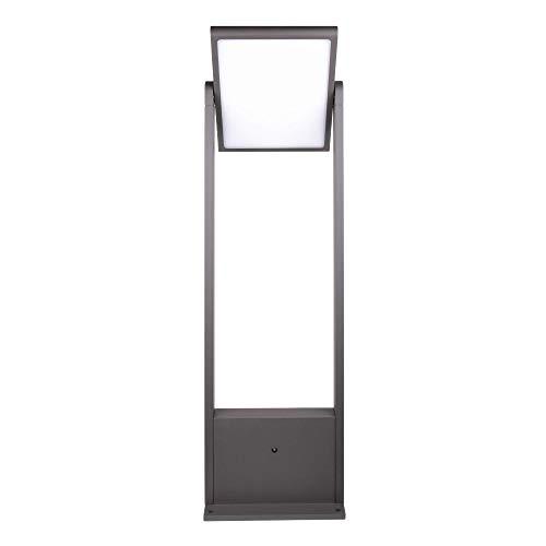 PRDX Lámpara LED de pie Amatera, día y noche, solar, 60 cm, 3000 K, 150 lm, resistente a la intemperie, con batería, para exterior con sensor de día y noche, duración de hasta 10 h