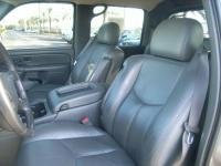 Durafit Seat Covers, 2003-2007 Chevy Silverado, Suburban and Avalanche Front Captain Chairs with Manual Controls. No Side Impact Airbags. Made in Gray Leatherette