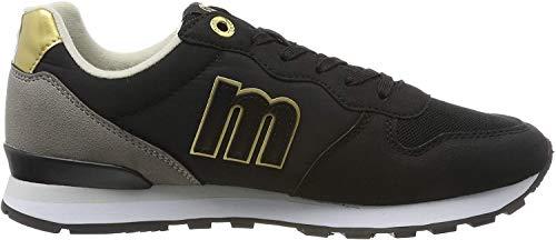 MTNG Attitude 69705, Zapatillas para Mujer, Negro (Pila Negro/Gris C47271), 37 EU