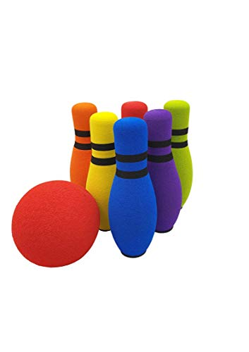 Best Deals! Move-It Designed by Parents Development Foam Bowling Set, Designed for Extended Play wit...