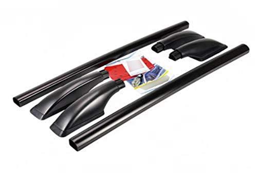 JPVGIA Portaequipajes de Techo de Coche Barra de Accesorios del Coche for Nissan Navara de Nissan D22 baca del Coche (Color : Black)