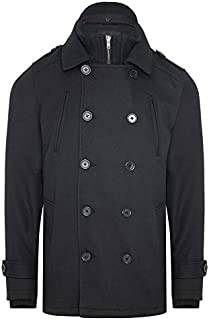 Tarocash Men's Leeds Db Coat Sizes Small - 5XL for Going Out Smart Occasionwear