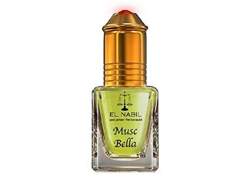 El Nabil Bella musc el nabil parfum 5ml oil alkoholfrei hochwertig orientalisch arabisch oud misk moschus natural perfume amber adlerholz ätherisch attar scent