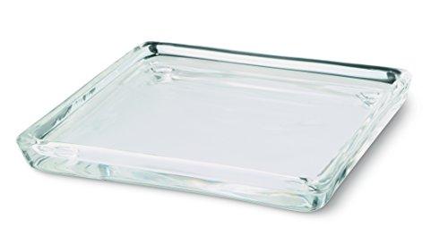 bolsius Rechteck Kerze, Glas, transparent
