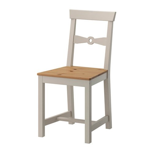 Ikea Gamleby–Silla, luz Envejecido Manchas, Gris–40x 37x 60cm