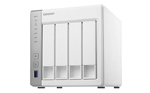 QNAP TS-431P 16TB 4 Bay NAS-Lösung | Installiert mit 4 x 4TB Western Digital Red-Laufwerken (GDPR konform)
