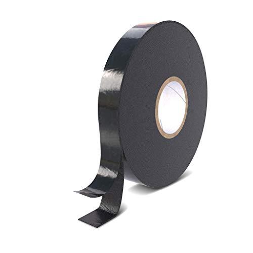 Rietlow Doppelseitiges Klebeband Extra Stark - Universal Montageband aus widerstandsfähigem PE-Schaum - Schwarzes Doppelseitiges Klebeband 20mm x 10m - Verbessertes Konzept...