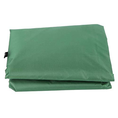 AMONIDA Funda de Asiento Colgante, Funda de cojín Plegable para Columpio de Patio con Muchas Funciones, Oficina para el hogar(Green)