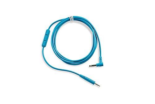 Bose QuietComfort 25 Kopfhörer-Kabel mit Inline-Mikrofon und Fernbedienungfür Samsung/Android Gerät, blau