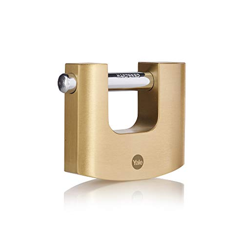 YALE Serie Y114B Panzerschloss Messing 80mm Yale Gold