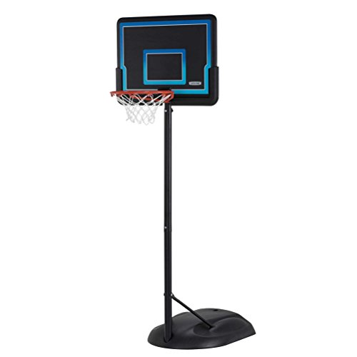 Lifetime Adjustable 32-inch Youth Basketball System, Black And Blue