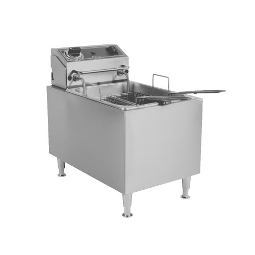Globe PF16E Countertop Fryer - Electric, 16 lb. Oil Capacity