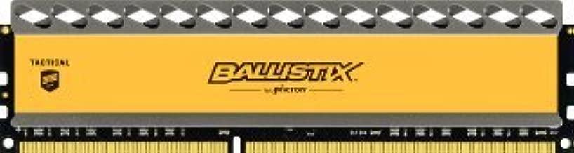 Ballistix Tactical 4GB Single DDR3 1866 MT/s (PC3-14900) UDIMM 240-Pin Memory - BLT4G3D1869DT1TX0