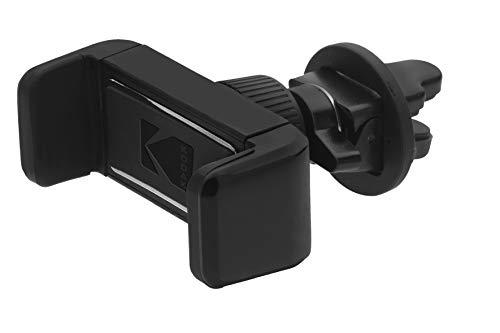 Kodak KODPH205 handyhalter Auto Slim Verstellbarer klemme fürs Handy, Platzierung im Belüfterhalter. Einstellbarer Winkel und Richtung für eine bessere Sicht auf das Telefon, Black, Universal