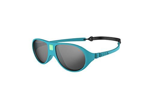 Ki ET LA – Gafas de sol para niños modelo Jokala– 100% irrompibles - color Azul Verdoso – 2-4 años