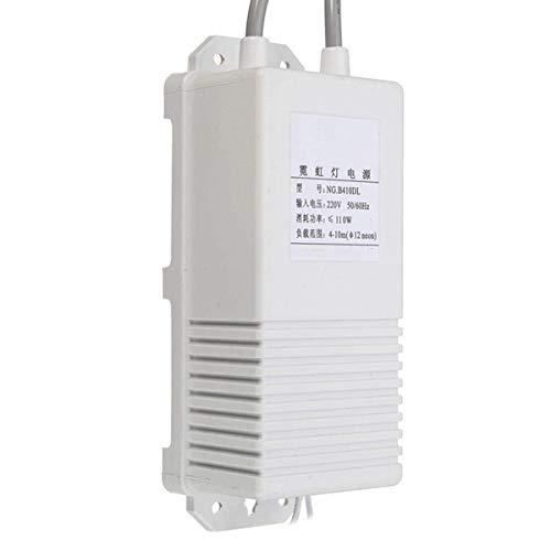 ZGQA-AOC 10KV 30mA 10000V 110W 10M electrónica de neón transformador rectificador de alimentación Accesorios de iluminación