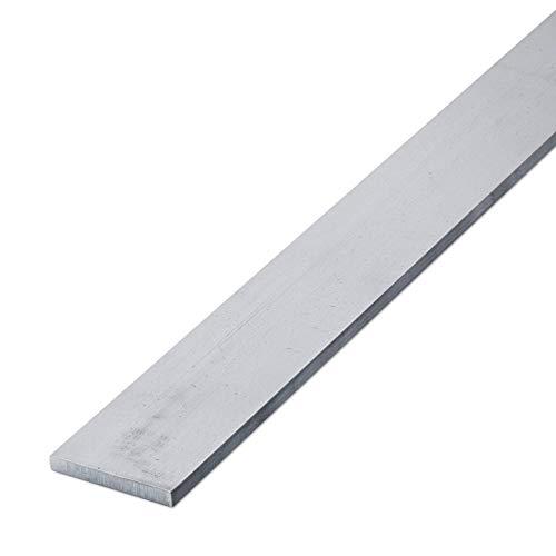 thyssenkrupp Flachstahl Edelstahl 20 x 10 mm in 500 mm Länge | Flachstange V2A gewalzt | Werkstoff: 1.4301 | AISI 304