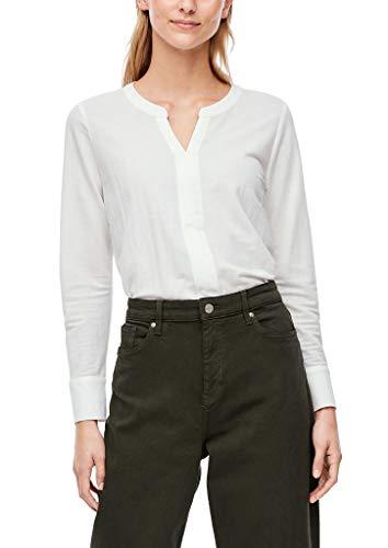 s.Oliver Damen Blusenshirt aus Viskosemix Cream 40