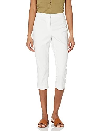 Theory Women's Tailored Capri, White, 14
