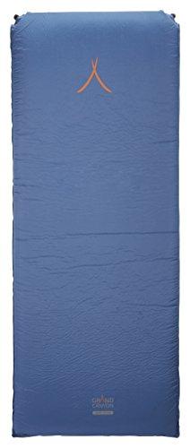 GRAND CANYON Cruise 10.0 - Matelas isolant autogonflant, 198 x 76 x 10 cm, bleu, 305034