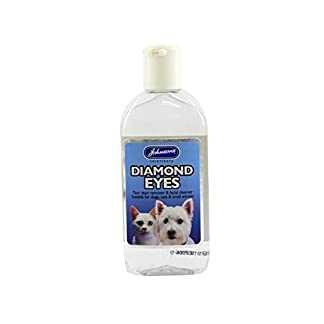 (6 Pack) Johnson's Vet - Diamond Eyes (Tear Stain/ Facail Cleanser) 125ml 10