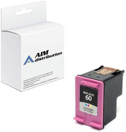 AIM Compatible Replacement for HP NO. 60 Tri-Color Inkjet (165 Page Yield) (CC643EE) - Generic