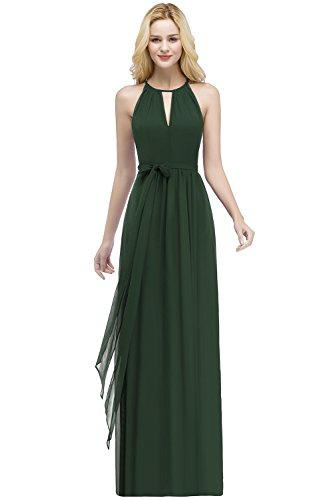 Babyonlinedress Damen Elegant Chiffon Abendkleid Abschlusskleider Brautjungferkleid Maxi...