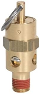 Midwest Control ST12-40 ASME Soft Seat Safety Valve, 40 psi, 1/8