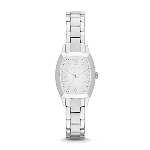 Relic by Fossil Women's Everly Quartz Stainless Steel Dress Watch, Color: Silver-Tone (Model: ZR34270)