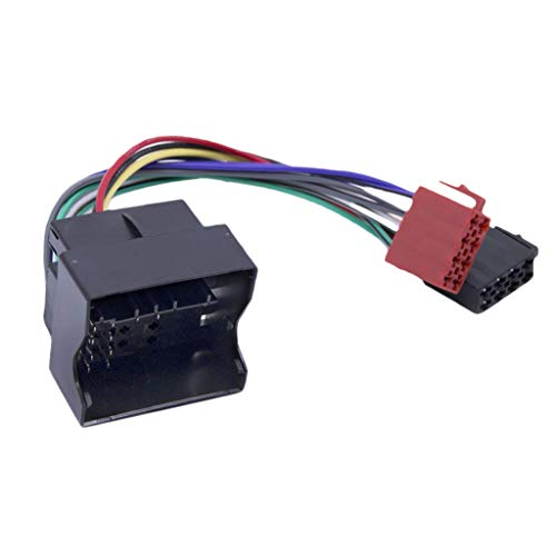 D DOLITY ISO Conector de Cable Adaptador de Radio de Coche Arnés de Cableado para Citroen C2 C3 2003 + C4 C5 2004 +