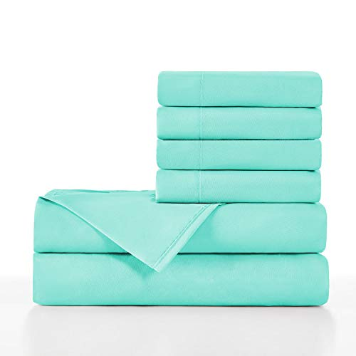 teal sheets twin - 2