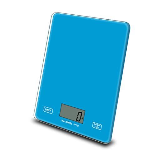 Haplws Báscula de Cocina multifunción para el hogar 5 Kg Báscula electrónica para Alimentos Báscula Digital con Pantalla LCD Báscula eléctrica