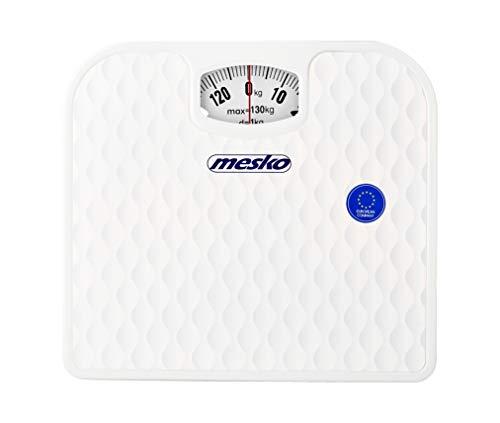 Mesko MS8160 Bascula de baño mecánica blanca