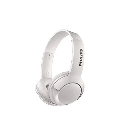 Philips on-ear headphones SHB3075WT/00 Bluetooth headphones (BASS+,...