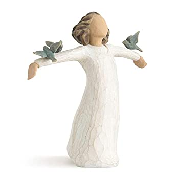 Willow Tree Happiness Sculpted Hand-Painted Figure