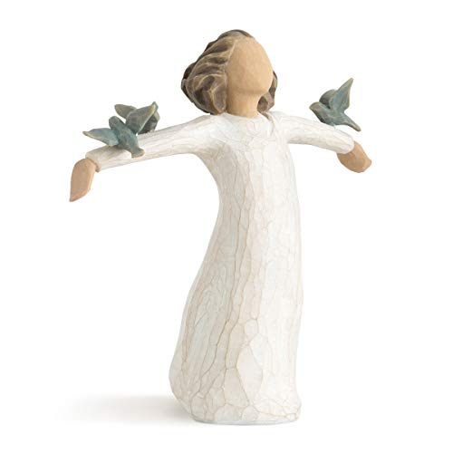 Willow Tree Happiness, Sculpted Hand-Painted Figure