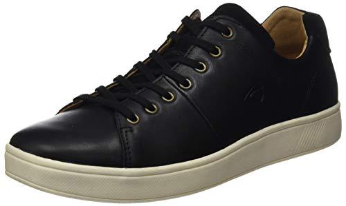 camel active Herren Corcovado Sneaker, Schwarz (Black 03), 39 EU
