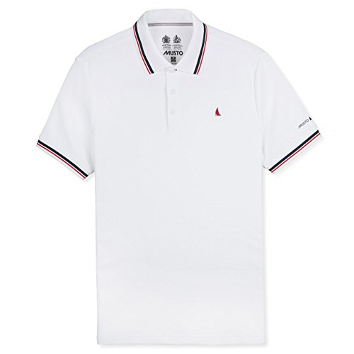 Musto Evolution Pro Lite Short Sleeve Polo White-L