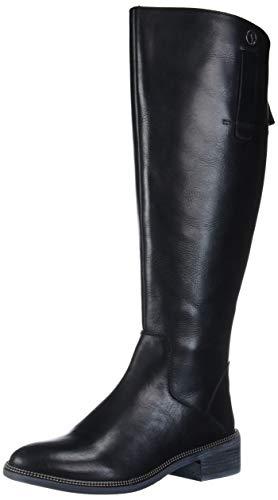 Franco Sarto Women's Becky Wide Calf Knee High Boot, Black, 9 M US