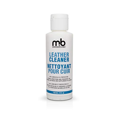 Moneysworth & Best Shoe Care Leather Cleaner, 4-Ounce