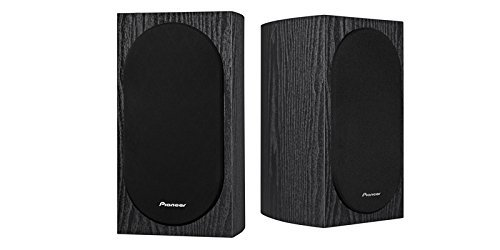 Pioneer SP-BS22-LR Andrew Jones Designed Bookshelf Loudspeakers(7-1/8 x 12-9/16 x 8-7/16 & weighs 9 lbs 2 oz) (Renewed)