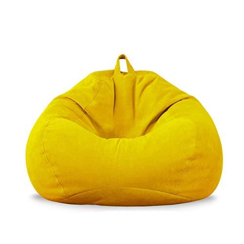 Sac De Haricots/Chaise De Sol/Grande Fauteuil/avec Mousse Ultra Confortable/avec Repose-Pied/Convient pour Intérieur Et Extérieur/90 * 85 * 50 cm