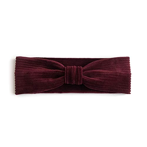 Barrettes Hoofdbanden Accessoires Mosterd Kabel Knit Hoofd Warmer Haaraccessoires Sieraden Kleding B