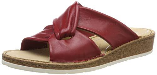 ara Damen POSITANO 1216101 Pantoletten, Rot (Rot 05), 40 EU(6.5 UK)