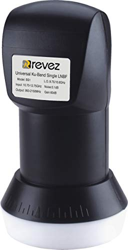 Revez Black Series Premium Single Universal LNB 1
